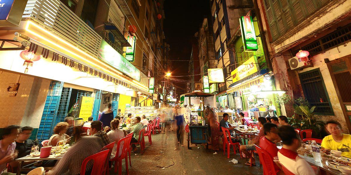 24 Hours in Yangon - Chinatown - Yangon - Sampan Travel