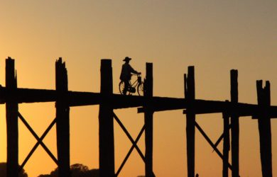 Amarapura & the U Bein Bridge - the U Bein Bridge - Mandalay - Sampan Travel