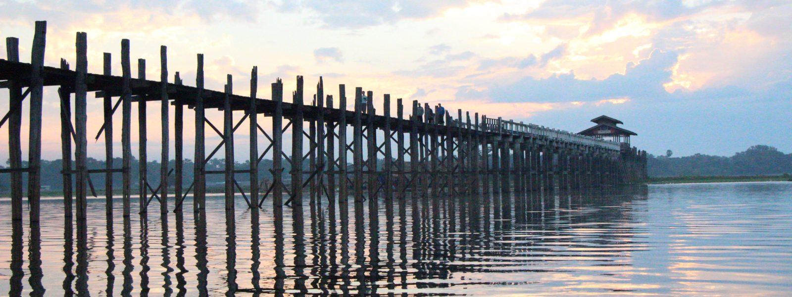 Amarapura & the U Bein Bridge - the U Bein Bridge - Mandalay - Sampan Travel