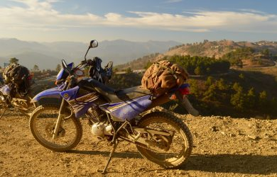 Chin State - Biking in Chin State - Myanmar - Ben Frederick