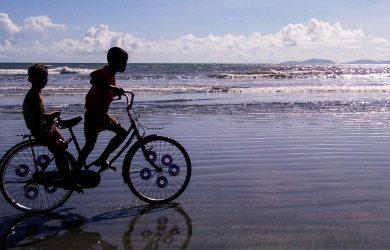Dawei - Boys on Maungamagan Beach - Myanmar - Sampan Travel
