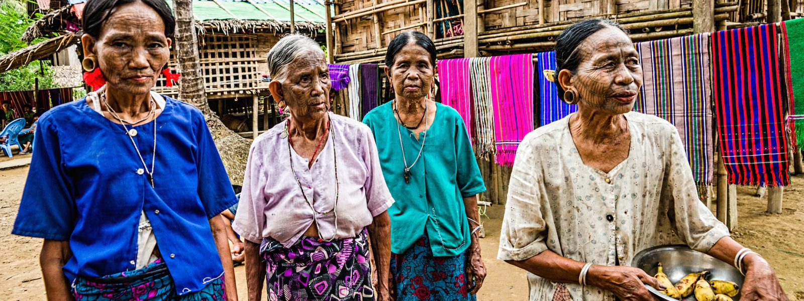 Further Up, Further In - Ladies in Chin State - Myanmar - Christopher Marsham