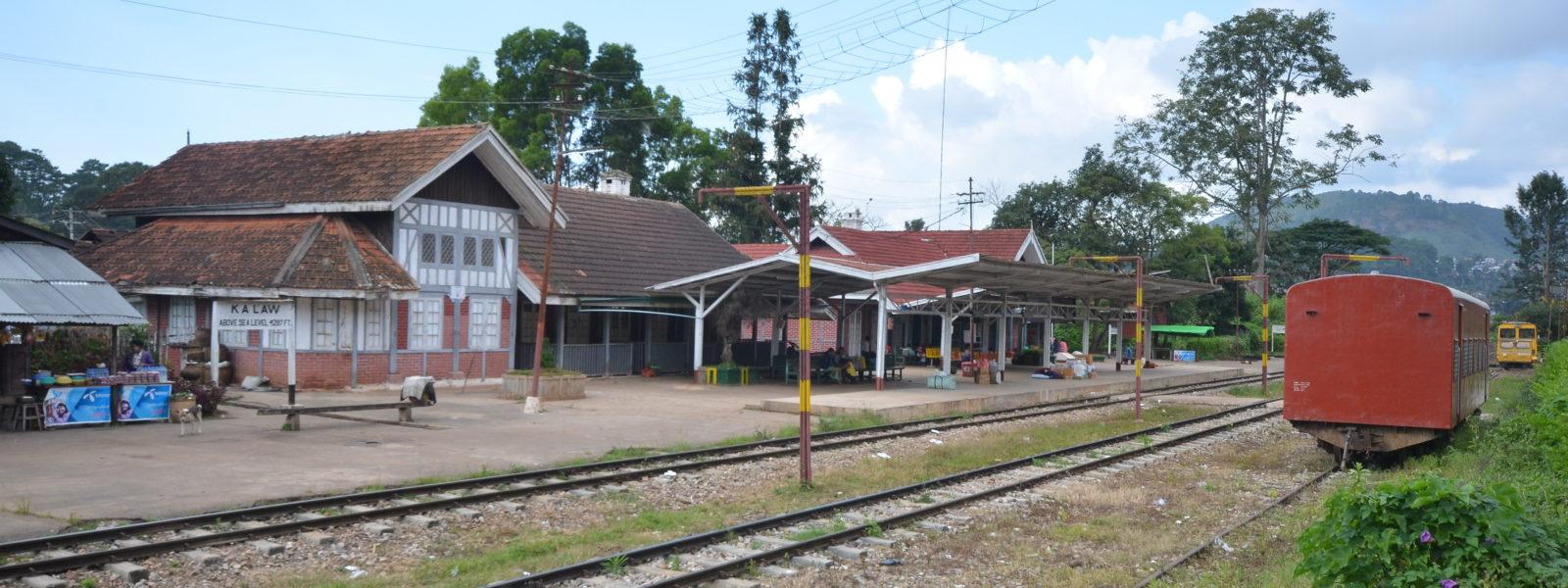 Kalaw - Kalaw train station - Shan State - Sampan Travel