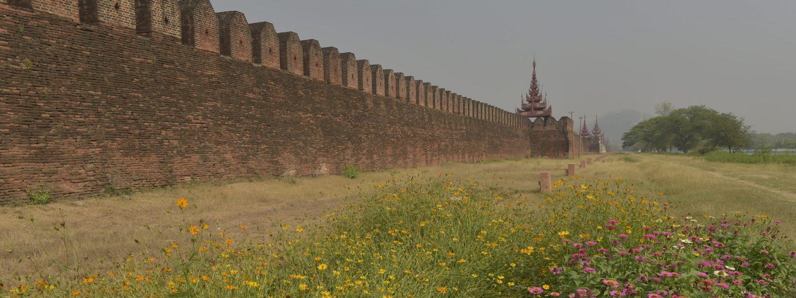 Mandalay - Royal Palace - Myanmar - Sampan Travel