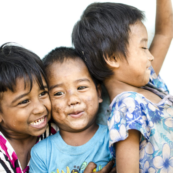 Myanmar Whistle-stop - children smiling - Myanmar - Sampan Travel