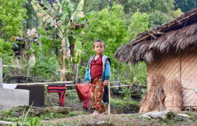 Nagaland - boy in Nagaland - Myanmar - Sampan Travel