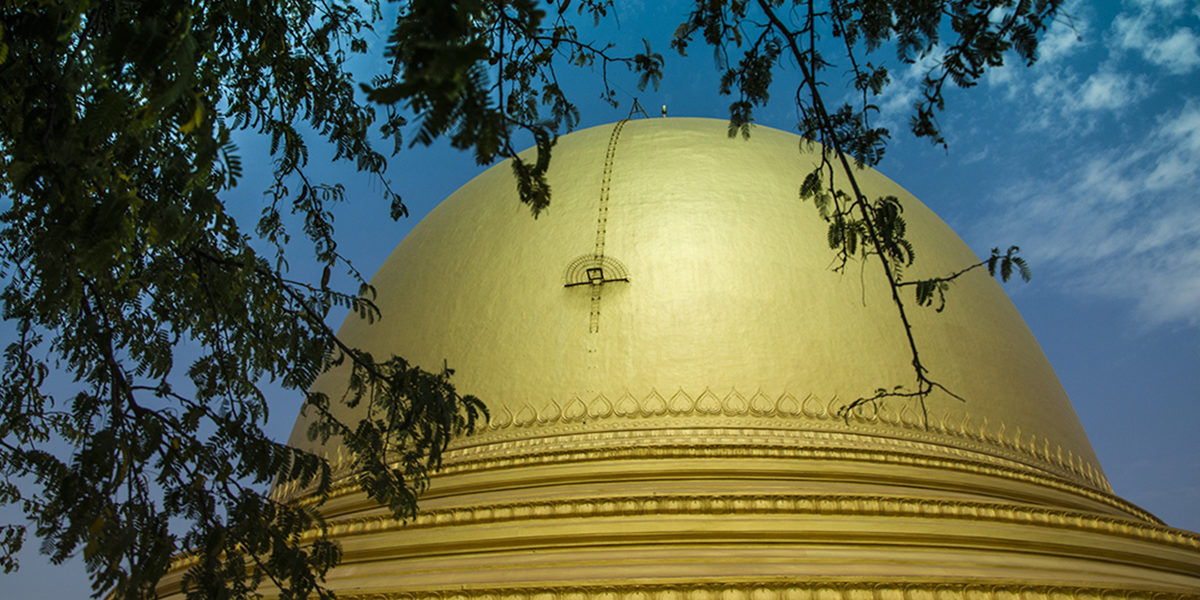 Sagaing - Sagaing Pagoda - Myanmar - Sampan Travel