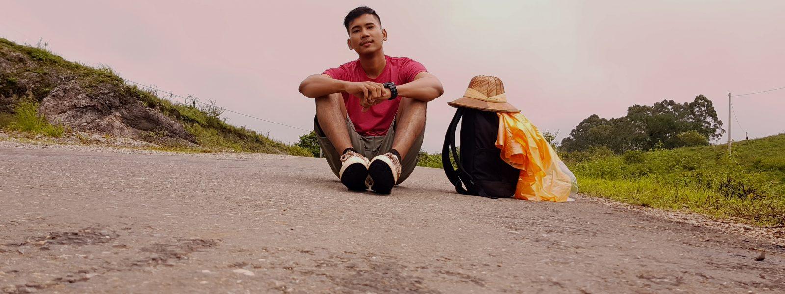 48 Hours Pindaya - Naing Lin on the trek - Pindaya - Sampan Travel