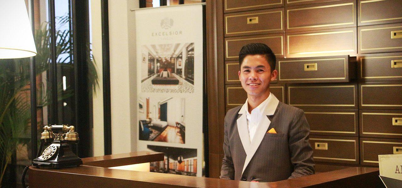 At the Excelsior - Win - Yangon - Sampan Travel
