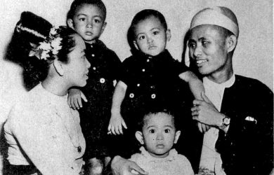 Aung San Suu Kyi - entire family - Myanmar - Sampan Travel