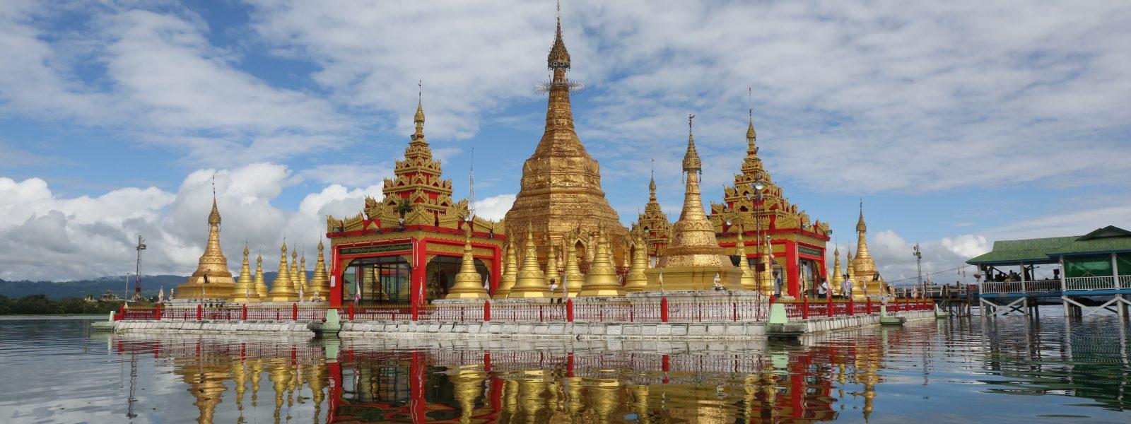 Exploring Indawgyi - Shwe Myitzu Pagoda - Indawgyi Lake - Sampan Travel