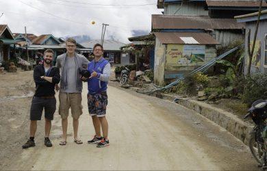 History Boys - Alex, Luke & Max from Grammar Productions - Sampan Travel