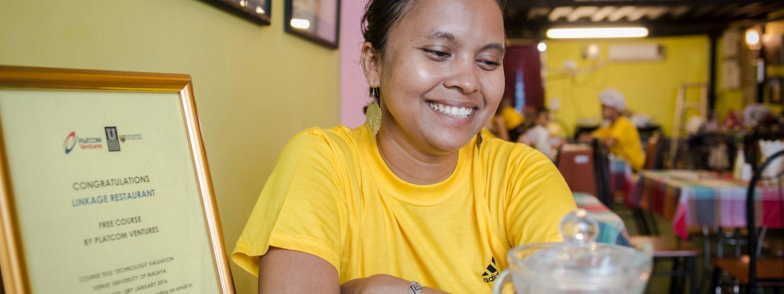 Ma Khin of Linkage - Ma Khin - Yangon - Sampan Travel