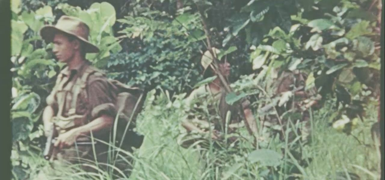 Saw Tun Thein - soldiers in jungle - Burma - Sampan Travel