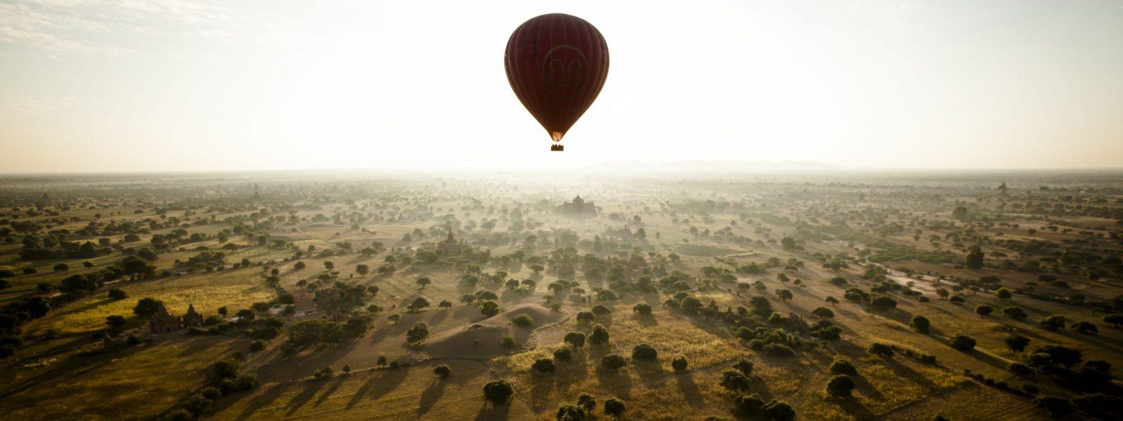 24 Hours in Bagan - Single Balloon - Balloons over Bagan - Sampan Travel