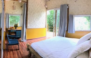 Myinka Trek Ecolodge - King Room - Sampan Travel