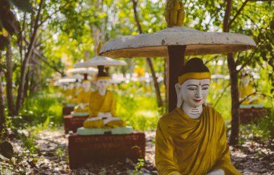 The Ananda in August - Bodhi Tah Taung - Monywa, Myanmar - Sampan Travel